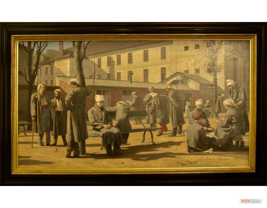 François-Marie Firmin, (Poncin, 1838 - Montluçon, 1921) Les Convalescents, 1861