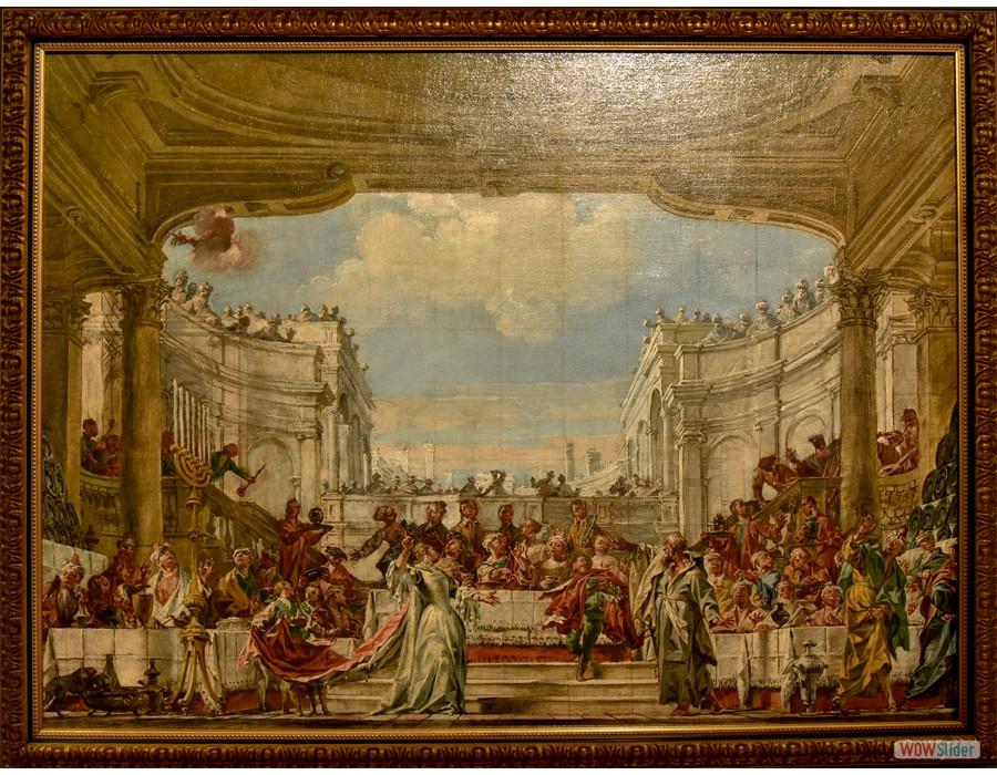 Giuseppe Barnaba Solieri (Capri, 1710 - 1796) Le Festin de Balthazar