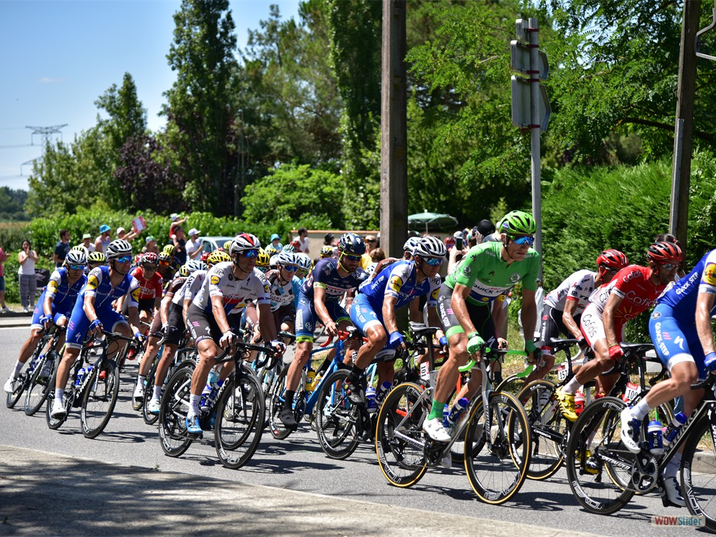 Tour de France, 15 Juillet 2017