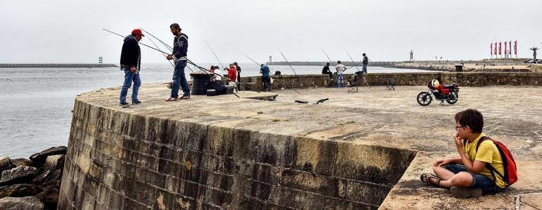 Um moment de pêche. Foz do Douro - Porto