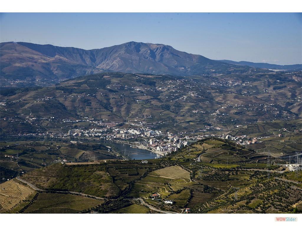 Vignobles du Douro - vue depui Sao Domingos