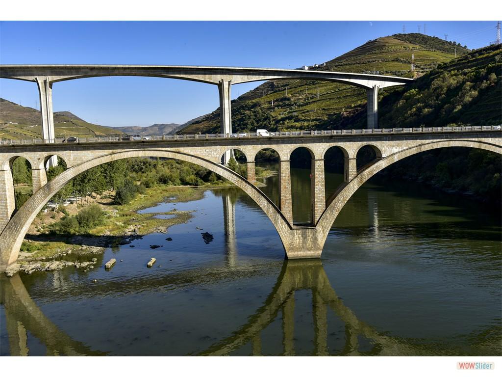 Ponts sur le fleuve